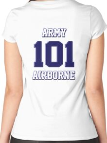Army 101 Airborne Women's Fitted Scoop T-Shirt
