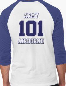 Army 101 Airborne Men's Baseball ¾ T-Shirt