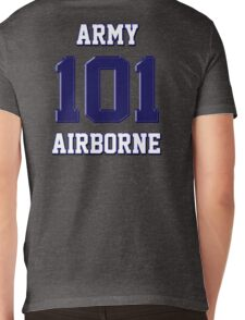 Army 101 Airborne Mens V-Neck T-Shirt