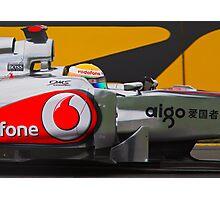 Lewis Hamilton 2011 Photographic Print