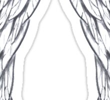 Blessed Angel Wings Sticker