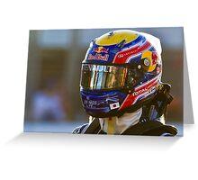 Mark Webber 2011 Greeting Card