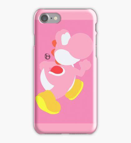 Yoshi (Pink) - Super Smash Bros. iPhone Case/Skin