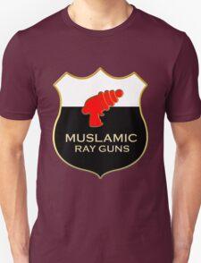 'Muslamic Ray Guns' Large Emblem T-Shirt