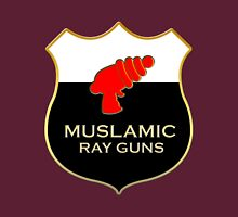'Muslamic Ray Guns' Large Emblem Unisex T-Shirt