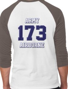Army 173 Airborne Men's Baseball ¾ T-Shirt