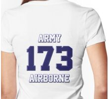 Army 173 Airborne Womens Fitted T-Shirt