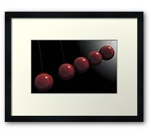 Cherry Red Knockers Framed Print