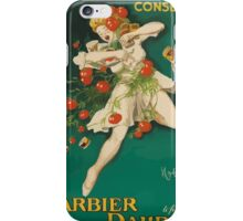 Leonetto Cappiello Affiche Conserves Dauphin iPhone Case/Skin