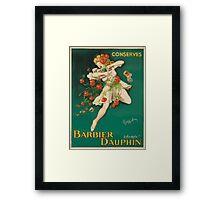Leonetto Cappiello Affiche Conserves Dauphin Framed Print