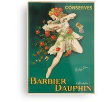 Leonetto Cappiello Affiche Conserves Dauphin Metal Print