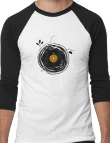Enchanting Vinyl Records Men's Baseball ¾ T-Shirt