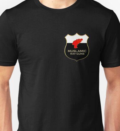 'Muslamic Ray Guns' Emblem Unisex T-Shirt