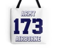 Army 173 Airborne Tote Bag
