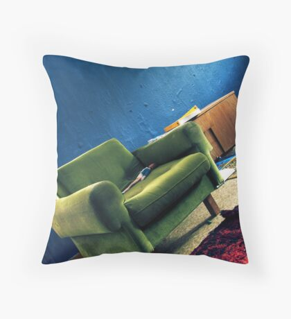14.3.2011: Home (abandoned) Throw Pillow