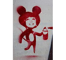 Mouse Spray Photographic Print