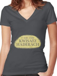 I Am The Kwisatz Haderach Women's Fitted V-Neck T-Shirt