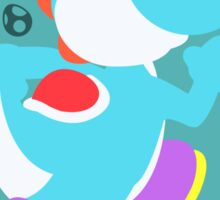 Yoshi (Cyan) - Super Smash Bros. Sticker