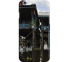 A house on stilts iPhone Case/Skin