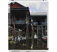 A house on stilts iPad Case/Skin
