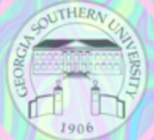 Georgia Southern Logo Sticker