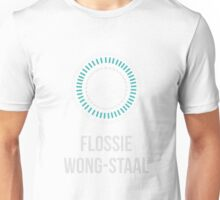 FLOSSIE WONG-STAAL (Light Lettering) - Clothing & Other Products Unisex T-Shirt