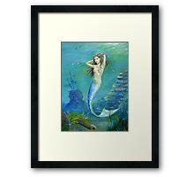 Mermaid of the Deep Framed Print