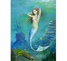 Mermaid of the Deep Photographic Print