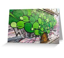 Alley Tree Greeting Card