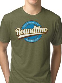 Seinfeld Roundtine Logo tee Tri-blend T-Shirt