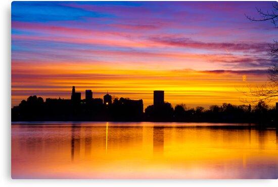 Painting The Sunrise by John  De Bord Photography
