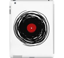 Spinning within with a vinyl record... iPad Case/Skin