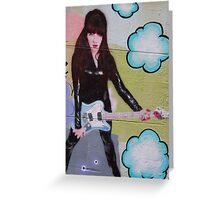 Rock Chick Greeting Card