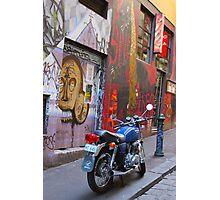 Rutledge Lane, Melbourne Photographic Print