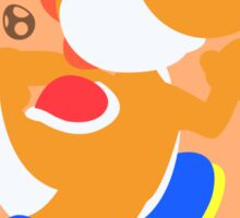 Yoshi (Orange) - Super Smash Bros. Sticker