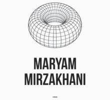 MARYAM MIRZAKHANI (Dark Lettering) - Clothing & Other Products Kids Tee