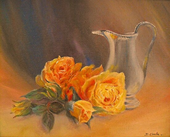 ROSES and CREAM by Beatrice Cloake