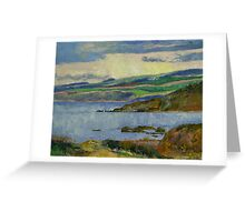 Firth of Clyde Greeting Card