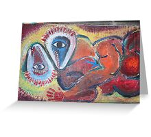 Abstract Loving Greeting Card
