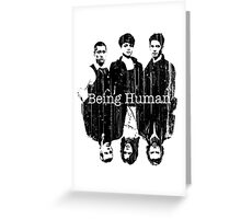 A Vampire, a Ghost and a Werewolf. 2nd Generation Greeting Card