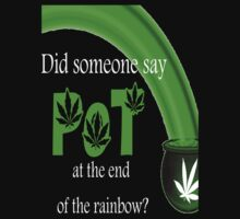 Pot at the end of the rainbow by Autumn-Leann