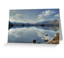 Derwentwater From Friars Crag Greeting Card