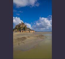 France. Normandy. Mont Saint-Michel. Unisex T-Shirt