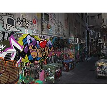 The beauty of the Alley ways Photographic Print