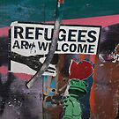 Refugees Are Welcome! by LJ_©BlaKbird Photography