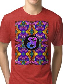 String Cheese Incident - Trippy Pattern 4 Tri-blend T-Shirt