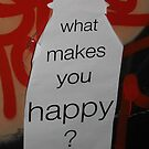What makes you happy? by LJ_©BlaKbird Photography