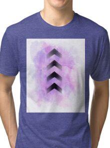 Purple Arrows Tri-blend T-Shirt