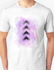 Purple Arrows Unisex T-Shirt