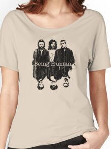 A Vampire, a Ghost and a Werewolf. 1st Generation Women's Relaxed Fit T-Shirt